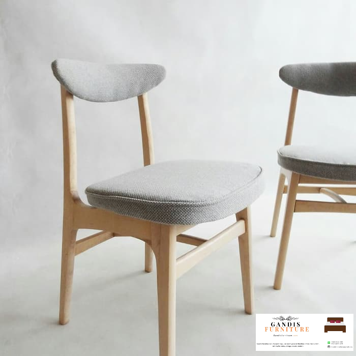 indonesia teak wood cafe chair