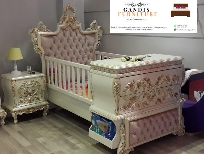 tempat tidur bayi mewah