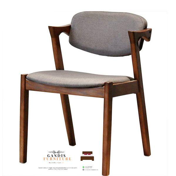 teak wood cafe chair