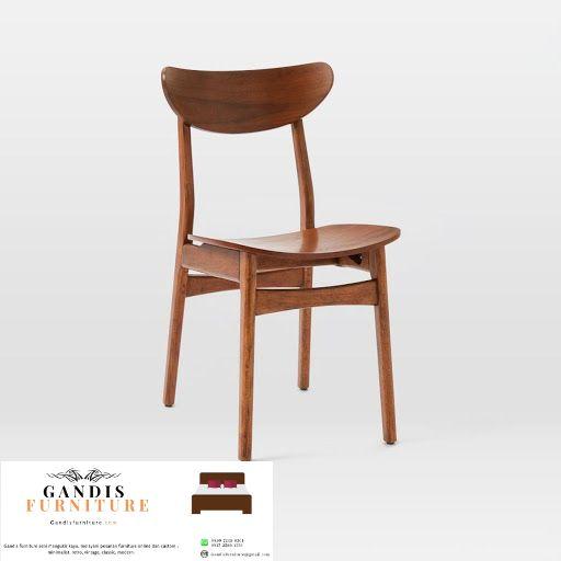 ropan cafe chair teak wood