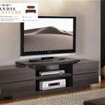 meja tv minimalis kayu modern murah