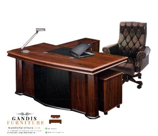 meja kantor direktur minimalis