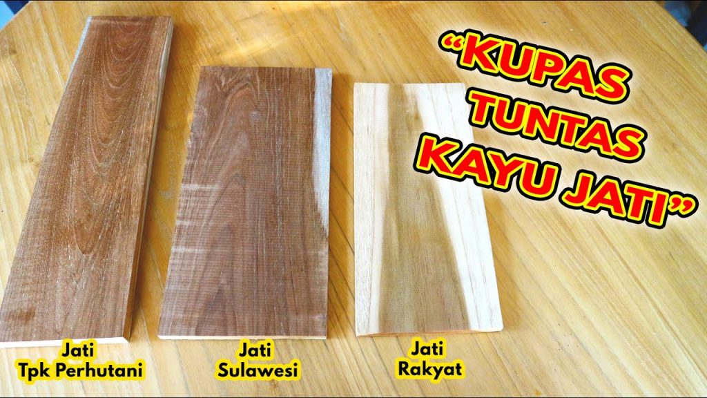 perbedaan kayu jati