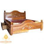tempat tidur minimalis klasik