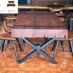 meja makan trembesi jepara murah model baru