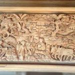 hiasan dinding ukiran jepara kayu jati