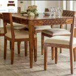 meja makan murah minimalis kayu jati