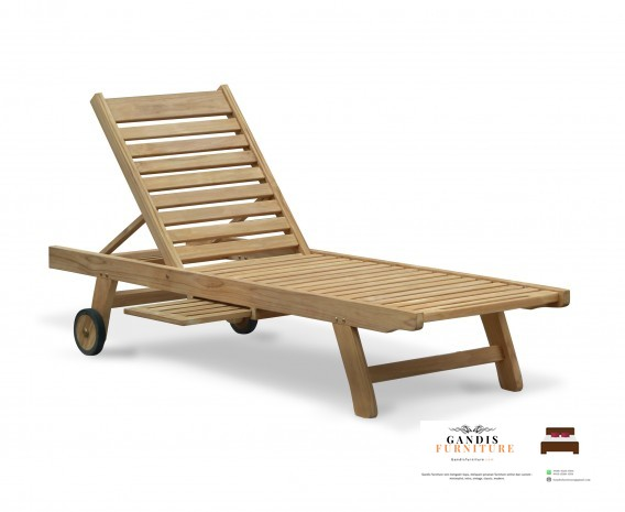 jual kursi lounger kayu jati jepara
