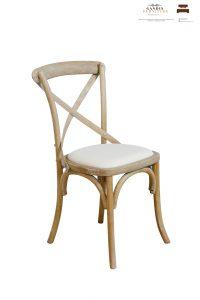 mahogany cafe chair