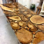 mejas resin kayu jati jepara