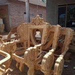 kursi tamu mewah ukiran kayu jati asli jepara