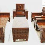 kursi tamu murah minimalis kayu solid