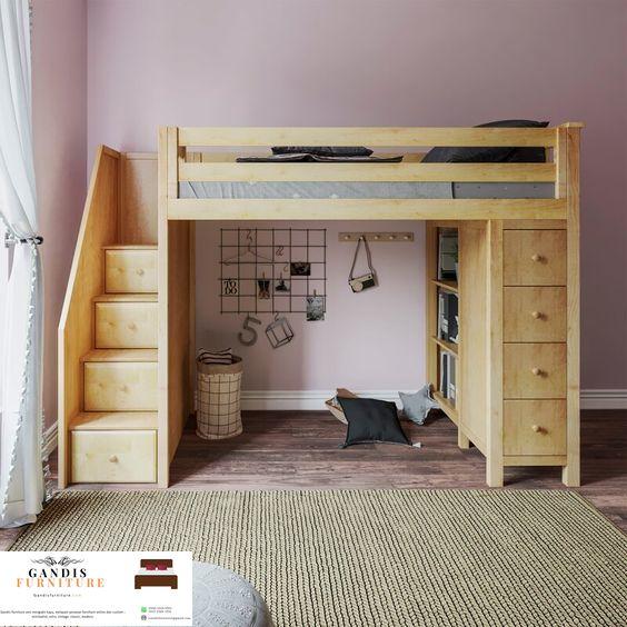 tempat tidur tingkat modern murah