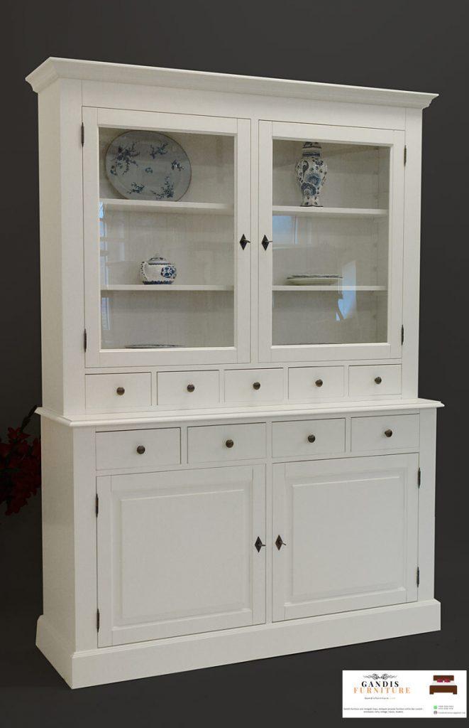 lemari dapur putih minimalis