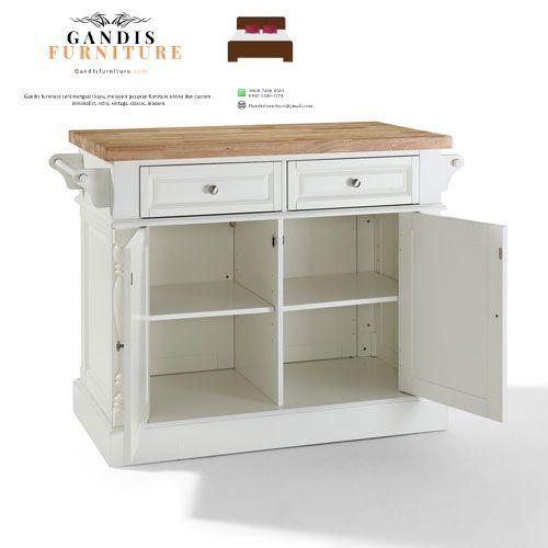 lemari dapur duco putih