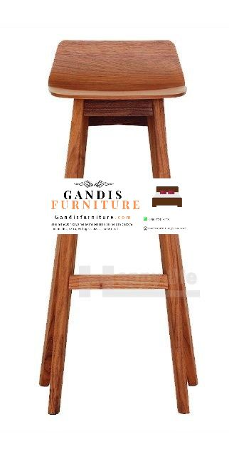 kursi bar kayu minimalis murah