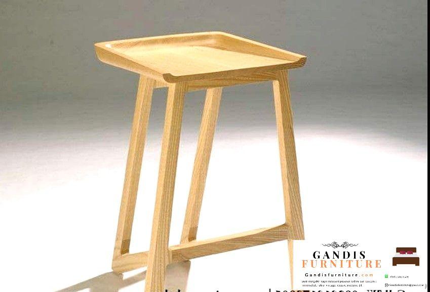 kursi bar kayu murah
