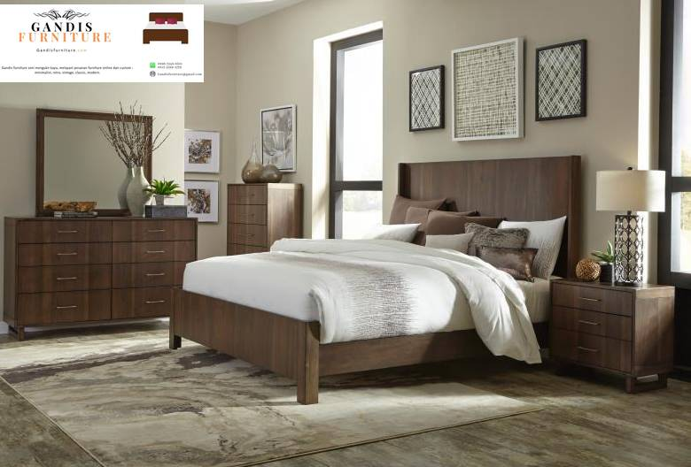 kamar set murah kayu jati