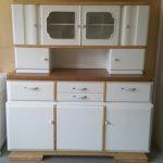 lemari dapur minimalis kayu solid