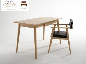 set meja belajar anak kayu