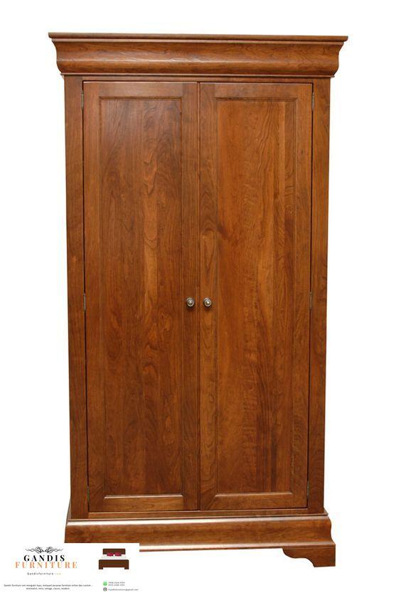 lemari pakaian 2 pintu murah