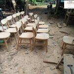 kursi cafe murah kayu jati asli jepara