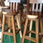 kursi cafe kayu jati murah asli jepara
