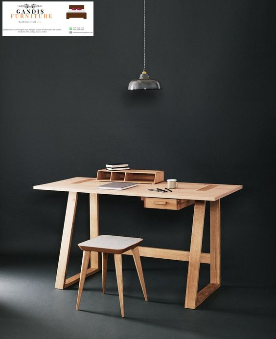 meja belajar modern