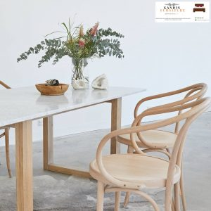 set meja makan marmer minimalis murah