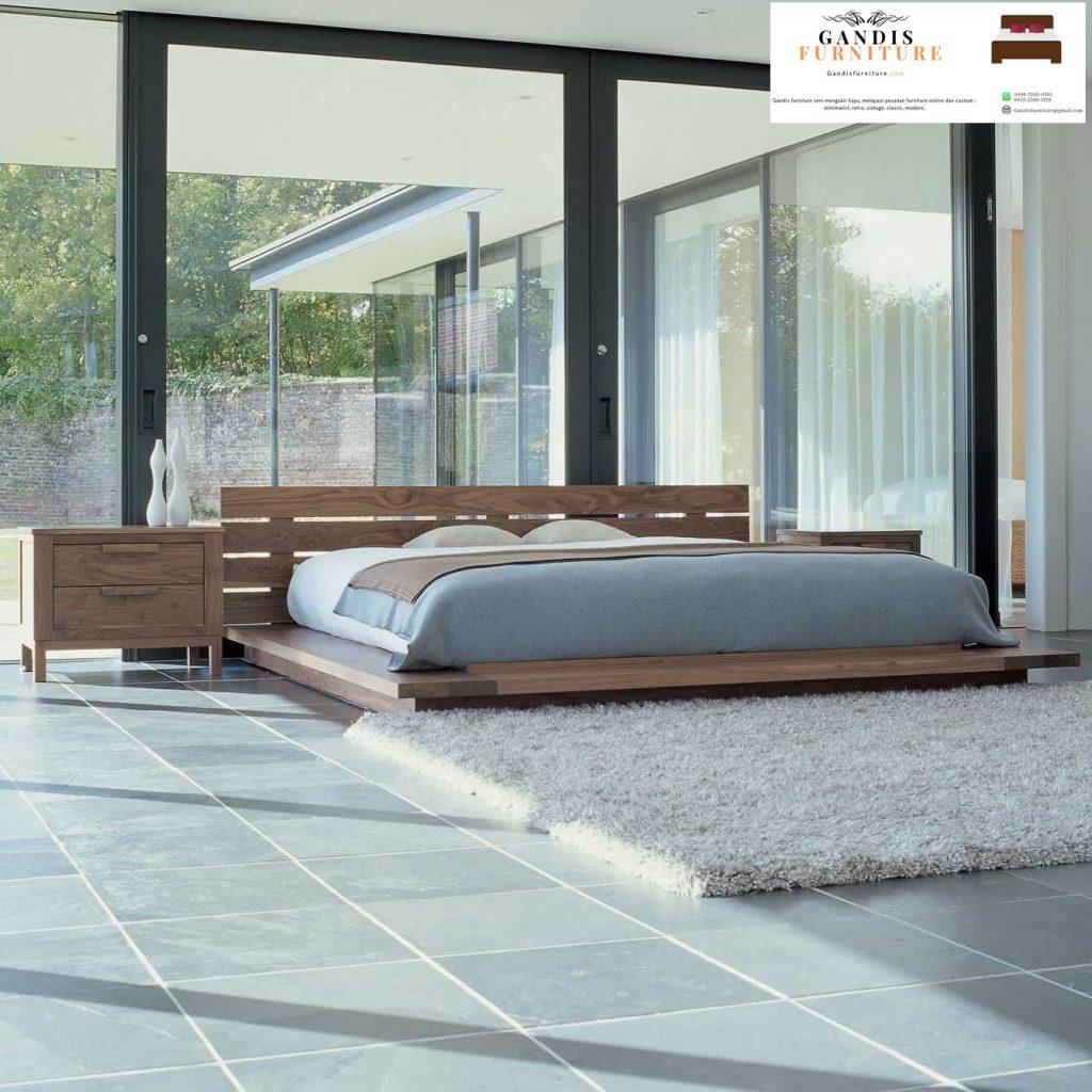 tempat tidur lantai jepang murah