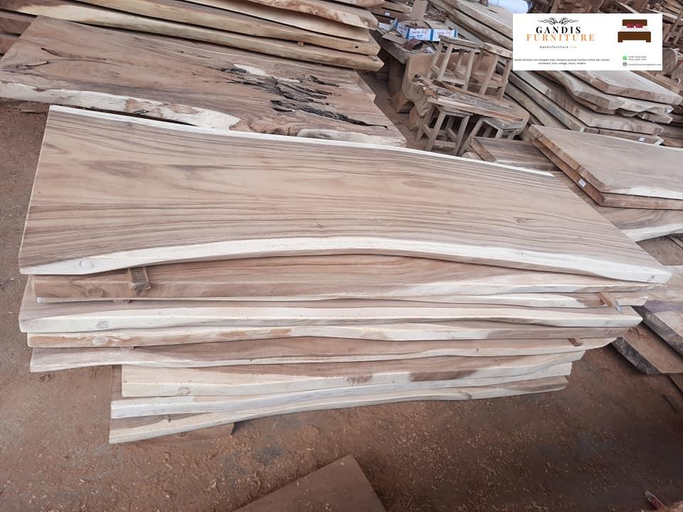 kayu meja trembesi