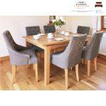 meja makan kayu jati minimalis
