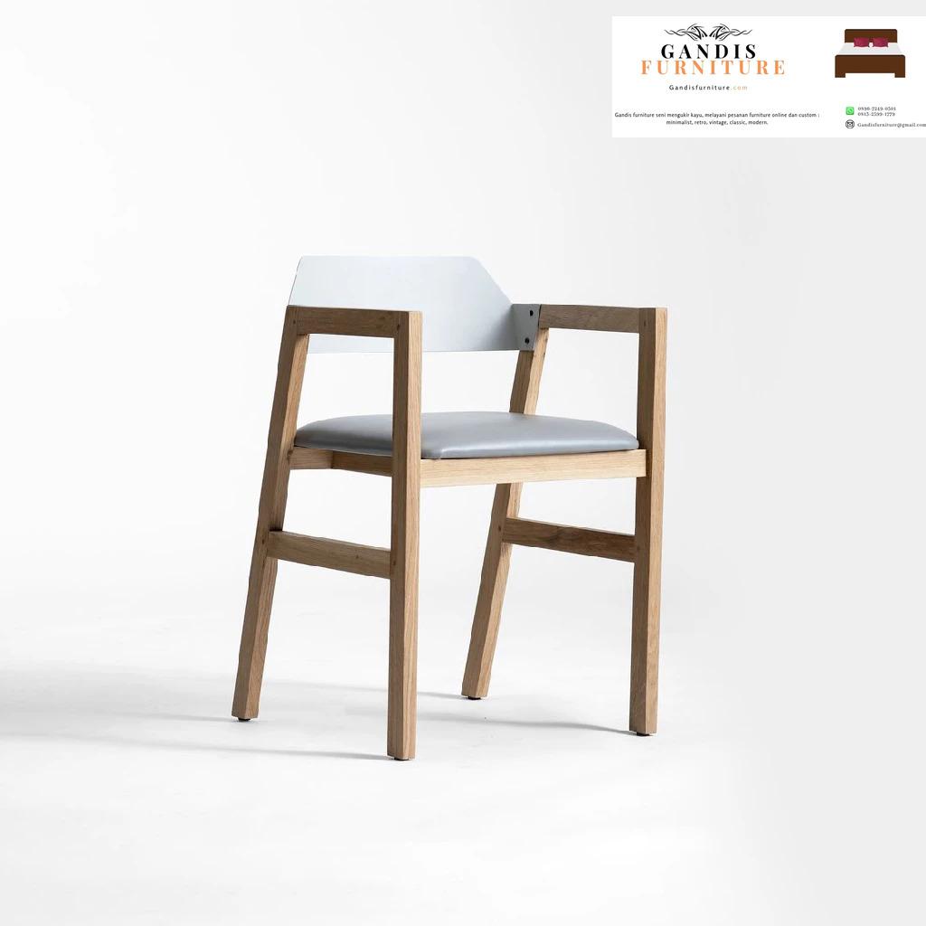 kursi cafe kayu minimalis unik
