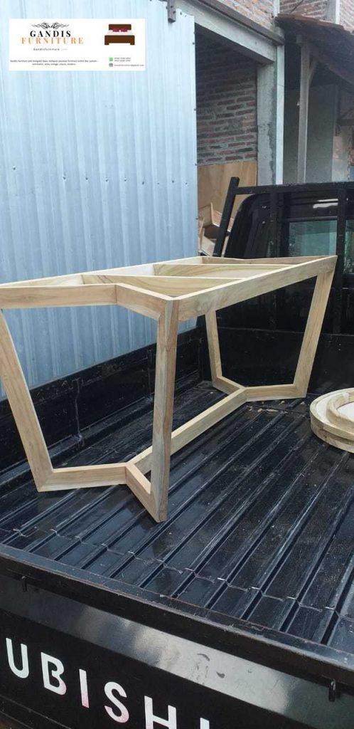 rangak meja marmer kayu jatirangak meja marmer kayu jati
