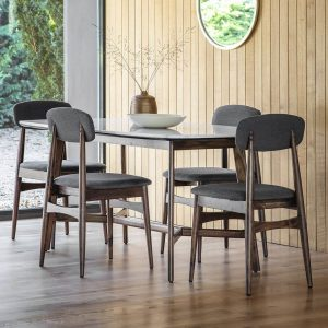 set meja makan kayu jati minimalis
