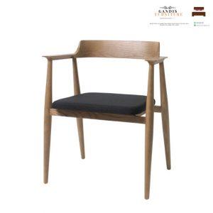 kursi cafe kayu model hiroshima 2020