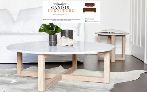 meja marmer ruang tamu minimalis