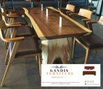 set meja makan trembesi 8 kursi terbaru