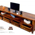 meja tv kayu minimalis murah modern