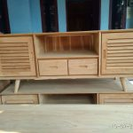 meja tv murah kayu jati minimalis