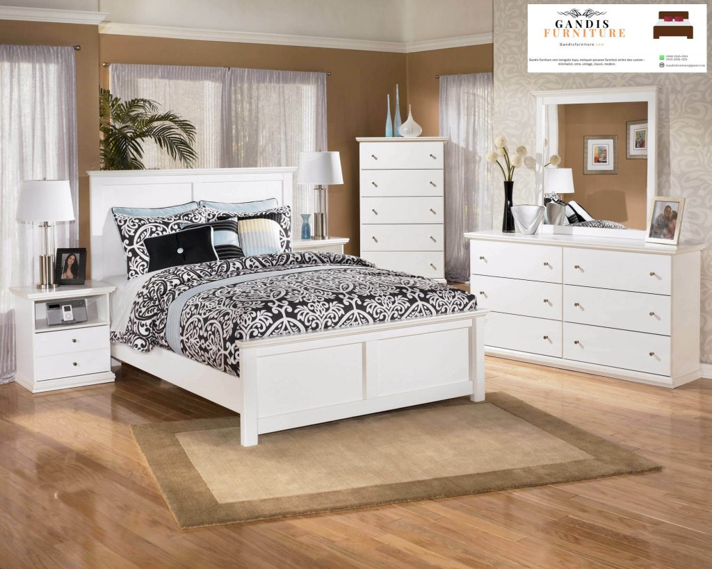 Kamar set anak minimalis kayu
