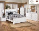 Kamar set anak minimalis putih kayu mahoni berkualitas