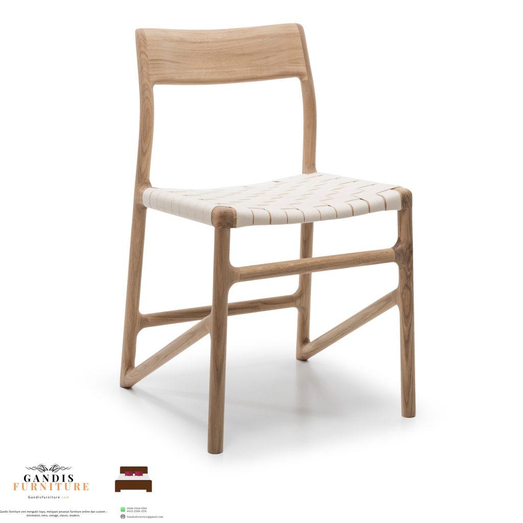 kursi cafe kayu model terbaru