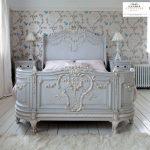 tempat tidur kayu mewah ukiran jepara