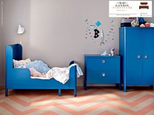 tempat tidur anak minimalis kayu solid