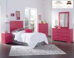 Tempat tidur anak kayu minimalis