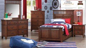 tempat tidur anak kayu jati solid jepara
