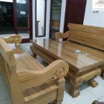 kursi tamu tebal kayu jati klasik kuno
