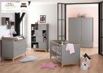 tempat tidur bayi kayu minimalis modern
