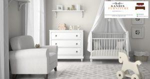 kamar set bayi minimalis modern putih